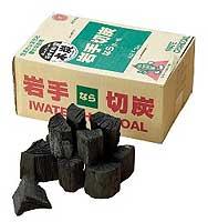 岩手切炭3kg 箱入りの画像1