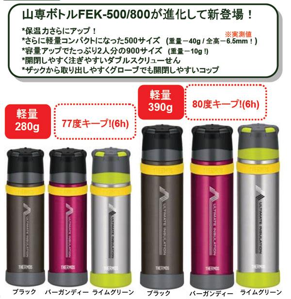 新製品「山専ボトル」ステンレスボトル/0.9L/ライムグリーン(LMG)の画像2